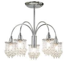 Endon 850-2CH Polished chrome wall and light fittings