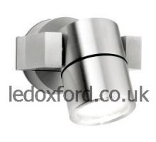 AU-WAL541/AN 240V GU10 Anodised Aluminium IP54 Adjustable Wall Light